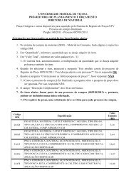 Pinça Cirúrgica - DTI- Diretoria de Tecnologia da Informação - UFV