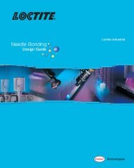 Design Guide for Needle Bonding (LT-3720) - Henkel North America