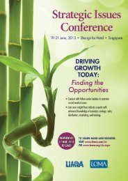 LIMRA LOMA 21st Annual Strategic Issues Conference