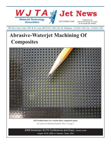 Abrasive-Waterjet Machining Of Composites - Waterjet Technology ...
