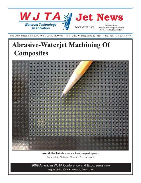 Abrasive-Waterjet Machining Of Composites - Waterjet