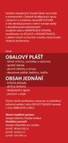 Pozvánka na konferenci Defekty Budov 2012 - Vysoká škola ... - Page 2