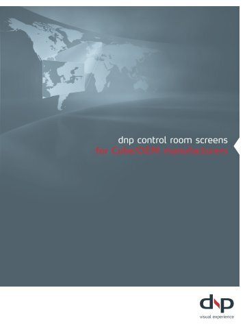 dnp control room screens for Cube/OEM manufacturers