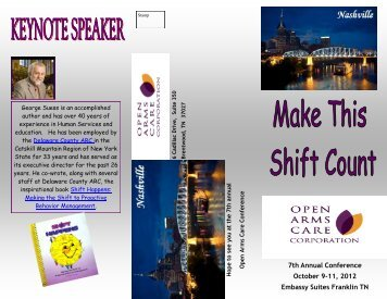 7th Annual Conference October 9-11, 2012 Embassy Suites Franklin ...