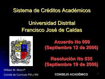 CONSEJO ACADÉMICO - Facultad de Ingenieria