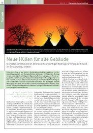 Neue Hüllen für alte Gebäude - Fachverlag Schiele & Schön