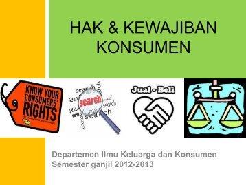 Pengembangan Usaha Ekonomi Keluarga dan - Departemen Ilmu ...