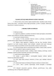 mokinio elgesio taisyklės - Vilniaus lietuvių namai