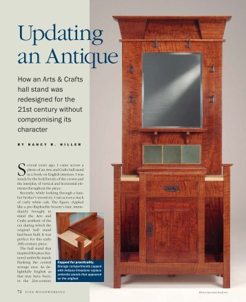 Updating an Antique: Edwardian Hallstand - NR Hiller Design