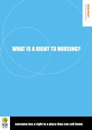 What is a Right to Housing - Focus Ireland