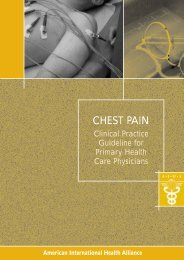 CPG Chest Pain EN PDF.qxd - American International Health Alliance