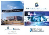 O. P. Jindal Global University - Jsia.edu.in