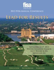 Download a Conference Brochure - Fisa