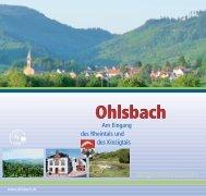 Einrichtungen in Ohlsbach