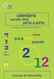 Page 1 calendario raccolta rifiuti porta a porta Modalità e giorni di ...