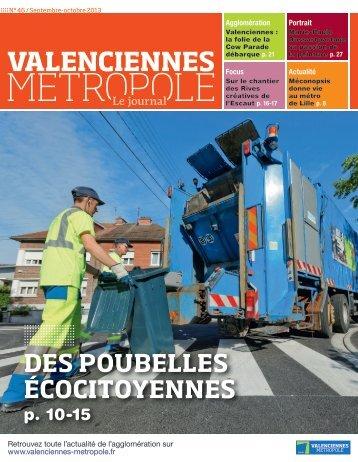 DES POUBELLES ÉCOCITOYENNES - Valenciennes Métropole