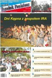 str. 12 str. 3 str. 8 - Ilustrowany Tygodnik Powiatowy