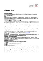 Finans Leksikon - Toyota Krogsgaard