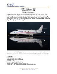 2007 Gulfstream G200 Serial Number 161 - Business Air Today