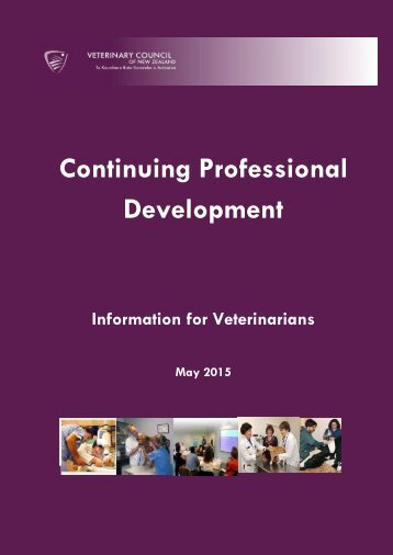 Continuing Professional Development – Information for Veterinarians