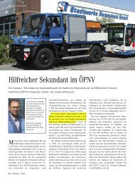 Hilfreicher Sekundant im ÖPNV - EGGERS Fahrzeugbau GmbH