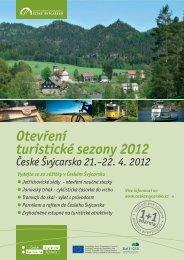 Otevření turistické sezony 2012 - České Švýcarsko