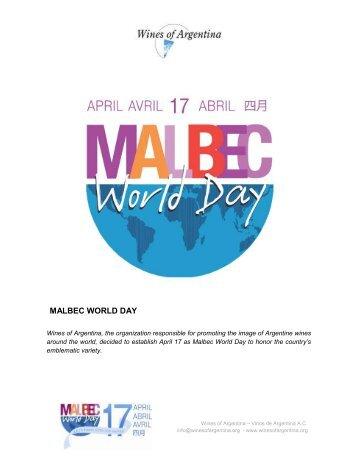 MALBEC WORLD DAY - Wines Of Argentina