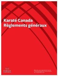 afin de lire le détail des changements ainsi proposés - Karate Canada
