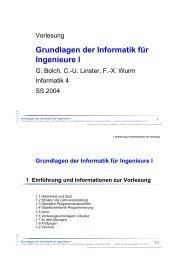 Grundlagen der Informatik für Ingenieure I - CS 4