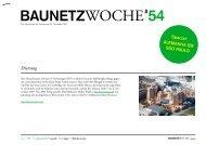 BAUNETZWOCHE#54