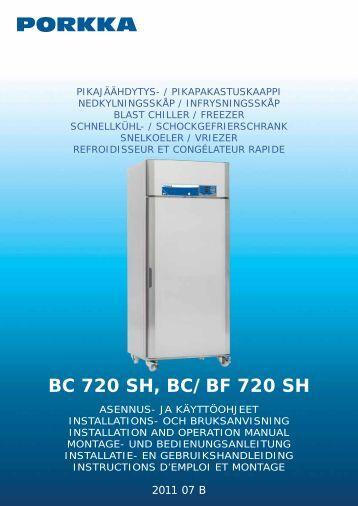 BC 720 SH, BC/BF 720 SH - Porkka