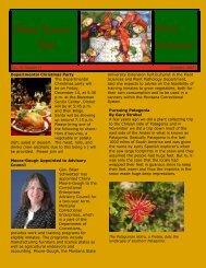 December 2007 - Department of Plant Sciences & Plant Pathology ...
