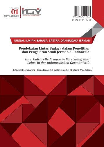 Jurnal IGV Ausgabe 1 – Sep 2013 - IGV – Indonesischer ...
