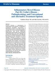 Crohn's Disease - Thorne Research