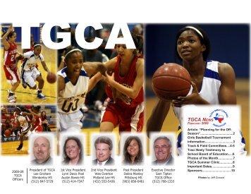 TGCA News - Texas Girls Coaches Association