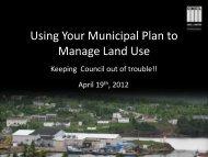 Land Use Planning [PDF] - Professional Municipal Administrators