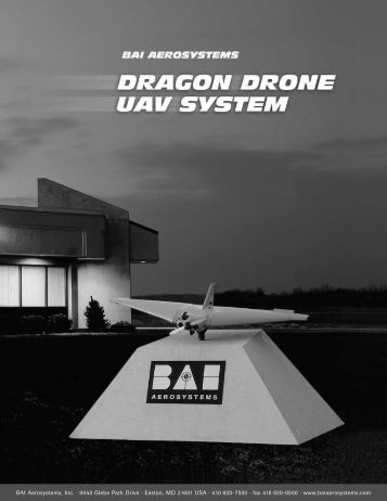 Dragon Drone UAV System - Unmanned Aircraft & Drones