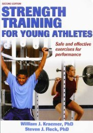 View PDF - Strength Training for Young Athletes Book - Gopher ...