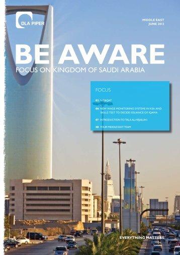 FOCUS ON KINGDOM OF SAUDI ARABIA - DLA Piper