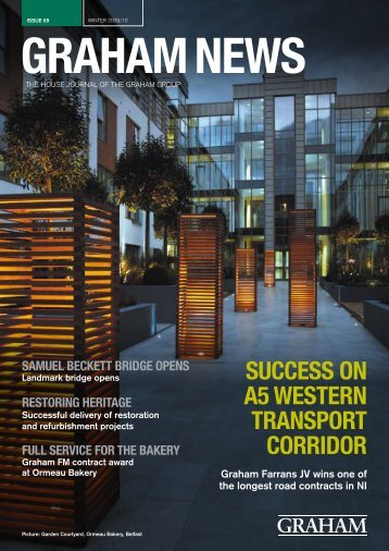 SUCCESS ON A5 WESTERN TRANSPORT CORRIDOR - Graham