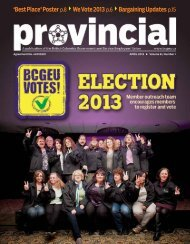 Provincial - March 2013 (PDF) - BC Government and Service ...