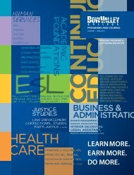 Programs and Courses JANUARY – JUNE 2012