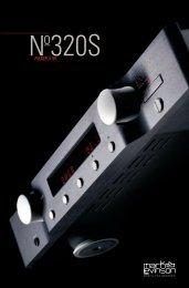 ML 320S Brochure - Mark Levinson