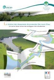 La révision des classements de protection des cours d'eau - Onema