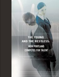 How Portland Competes for Talent - Global Urban Development