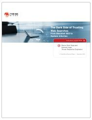 The Dark Side of Trusting Web Searches - Trend Micro