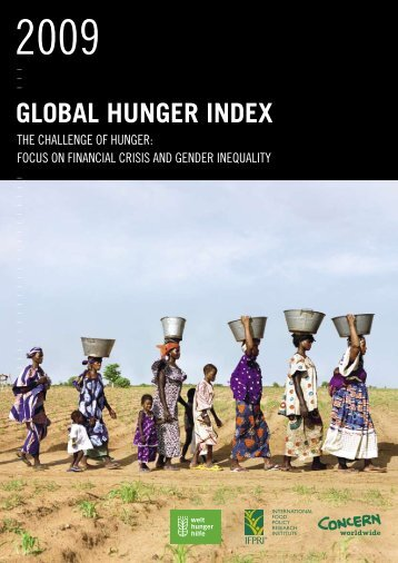 2009 Global Hunger Index - International Food Policy Research ...