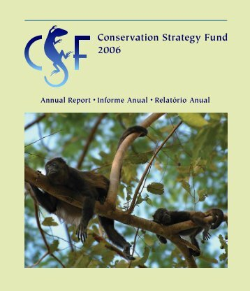 Conservation Strategy Fund 2006