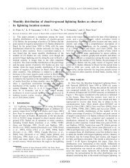 Monthly distribution of cloud-to-ground lightning flashes as ... - Inpe