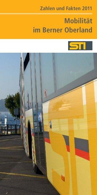 Zahlen und Fakten 2011 - Verkehrsbetriebe STI